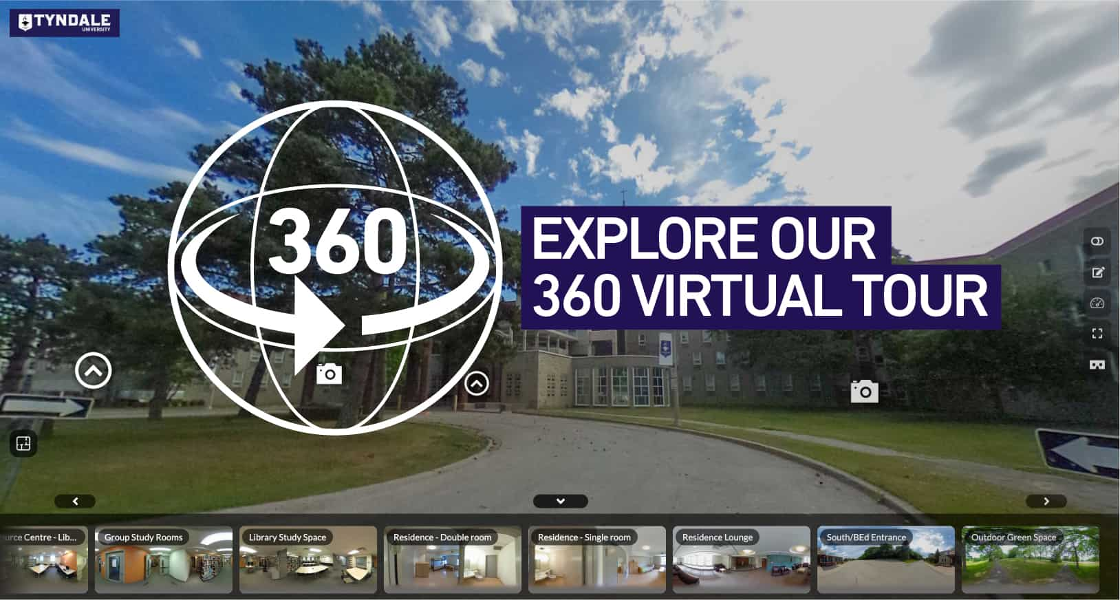 Explore our 360 virtual tour