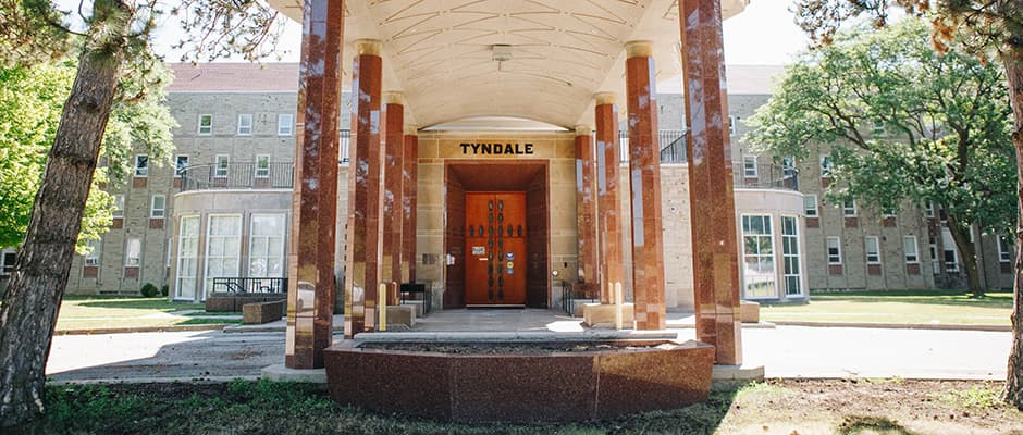 Tyndale front door