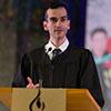 Student Speaker Joshua Lopes