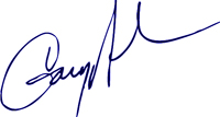 Dr. Gary Nelson - signature