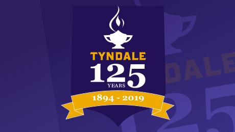 Tyndale's 125th anniversary logo