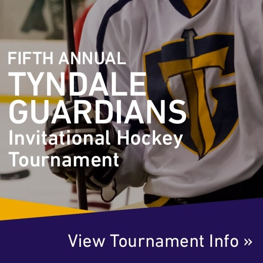 Fifth annual Tyndale Guardians invitational hockey tournament information