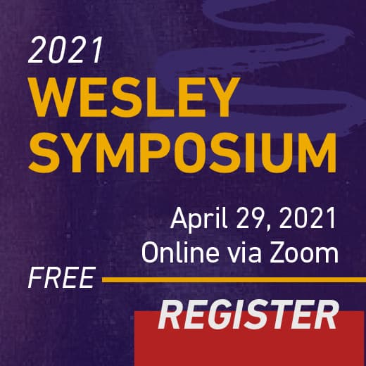 Register for 2021 Wesley Symposium