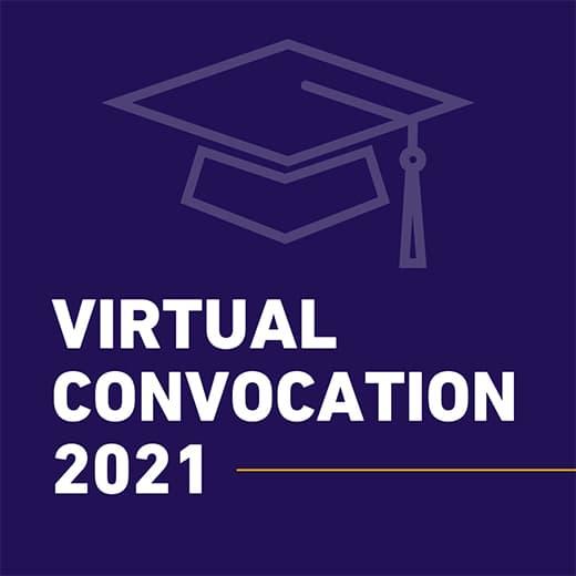 View Virtual Spring Convocation 2021