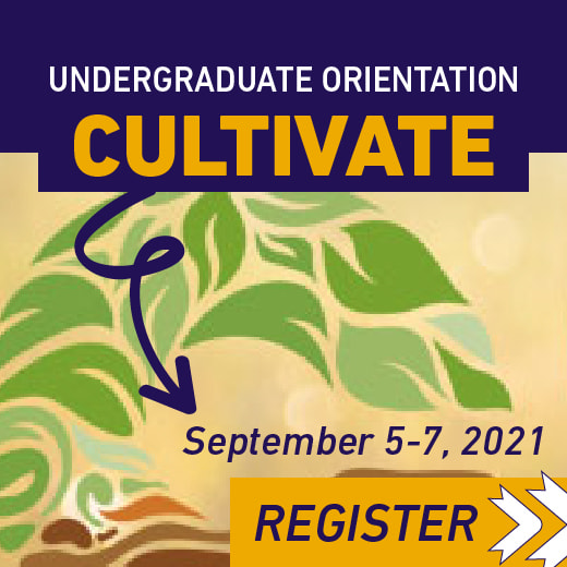 Register for Cultivate, Tyndale's Undergraduate Orientation from September 5 to 7, 2021