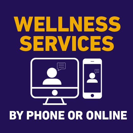 Wellness Services by phone or online