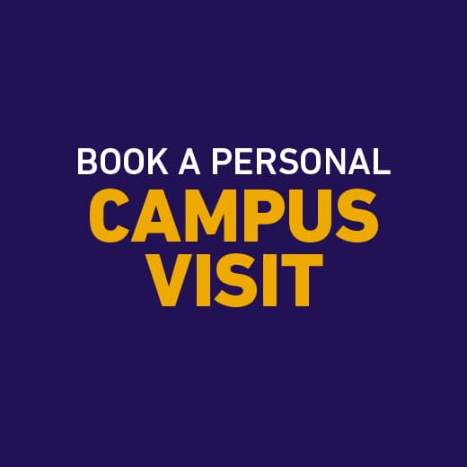 Book a personal campus visit