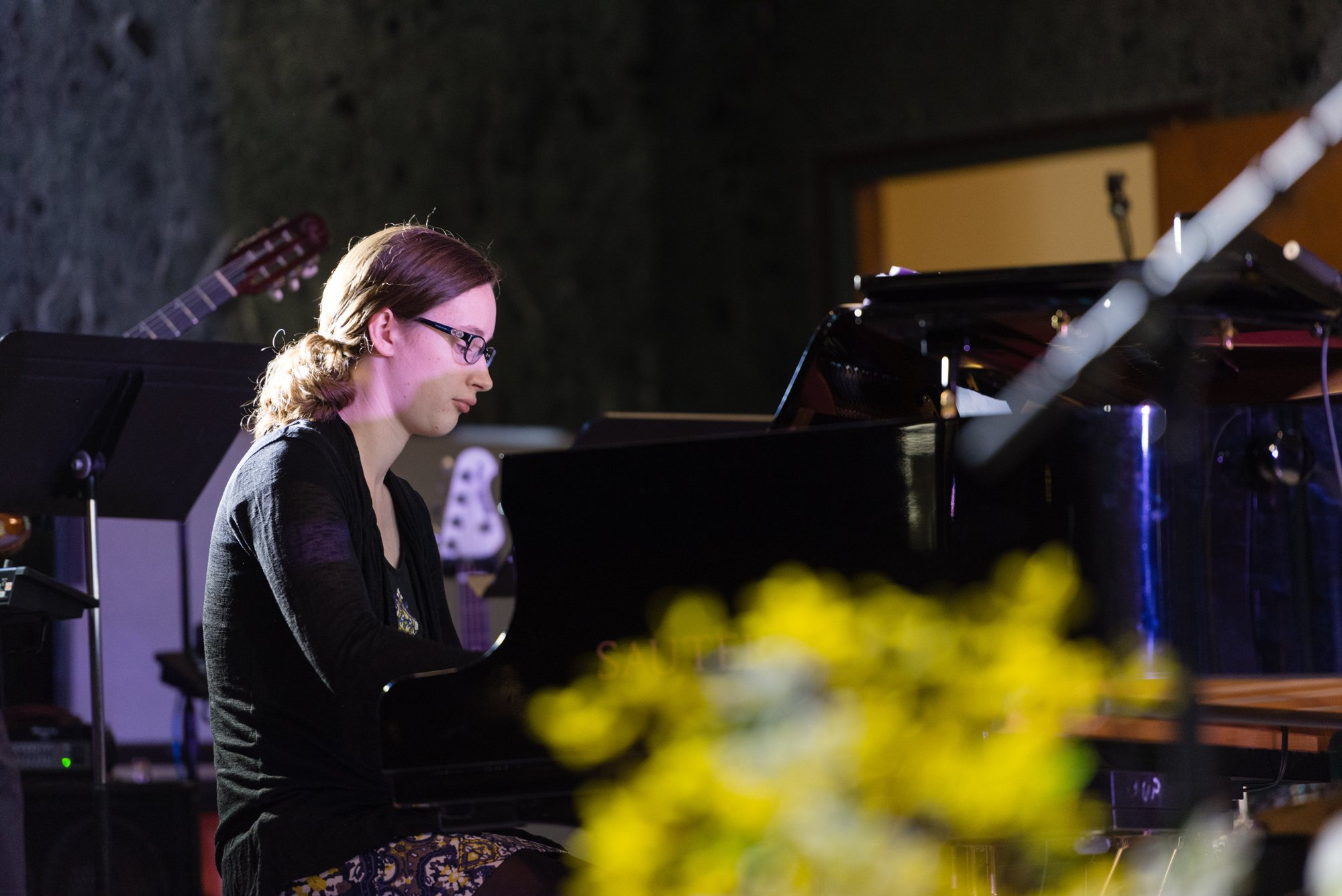 Pianist Emma Clarke