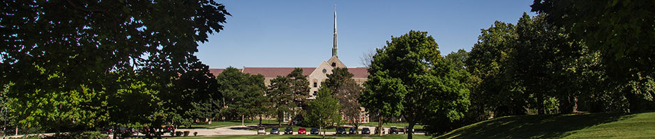 Tyndale campus from the front