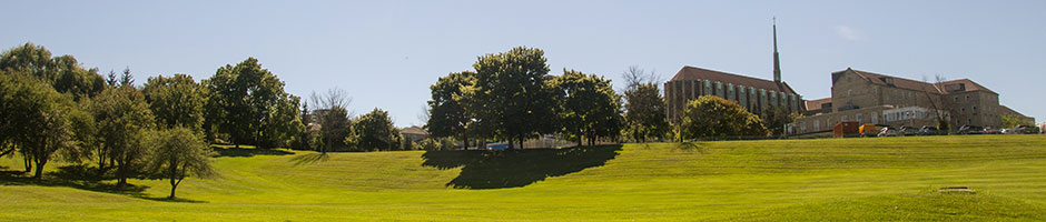 Tyndale Campus at summer