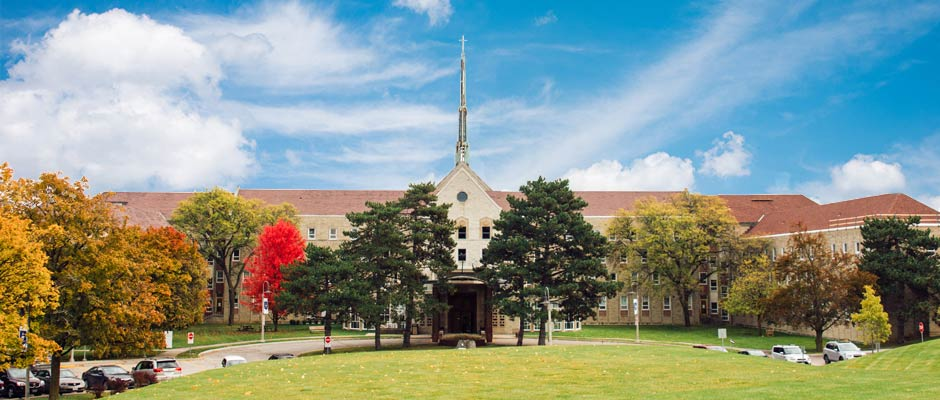 Front view of Tyndale campus