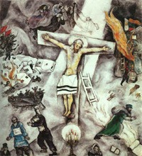 Marc Chagall, White Crucifixion