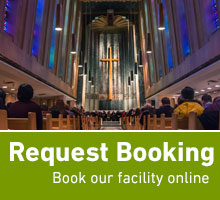 Request booking: book our facility online