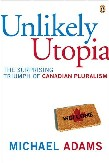 Unlikely Utopia book cover by Michael Adams