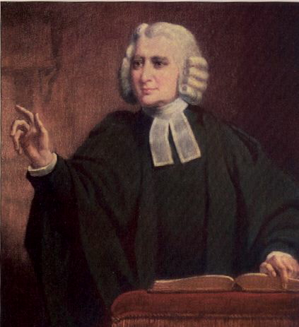 Painting of Charles Wesley