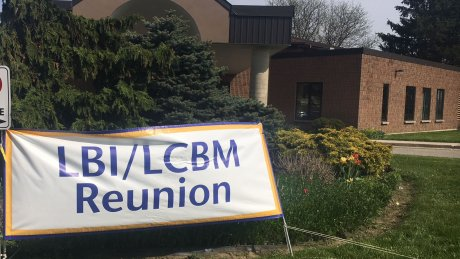 LCBM Reunion sign
