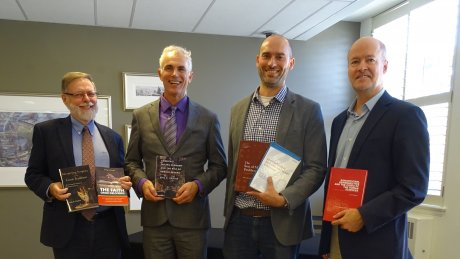 4 UC Faculty with their published books