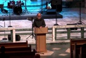 Professor Donald Goertz Speaking at the Tyndale Chapel