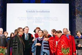 installation of Dr. Dennis Ngien