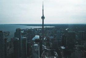 Aerial of Toronto
