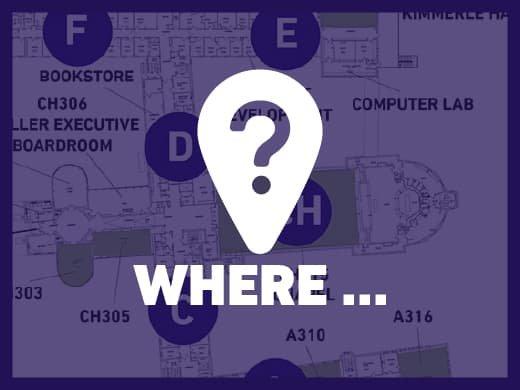 Where can I .... ?