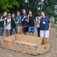 Cultivate 2014 - Cardboard Boats