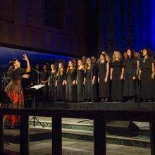 Dr. Melissa Davis and Tyndale Community Choir