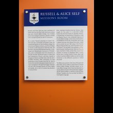 Russell and Alice Self Missions Room