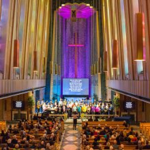 Choir performance at Easter in the Chapel