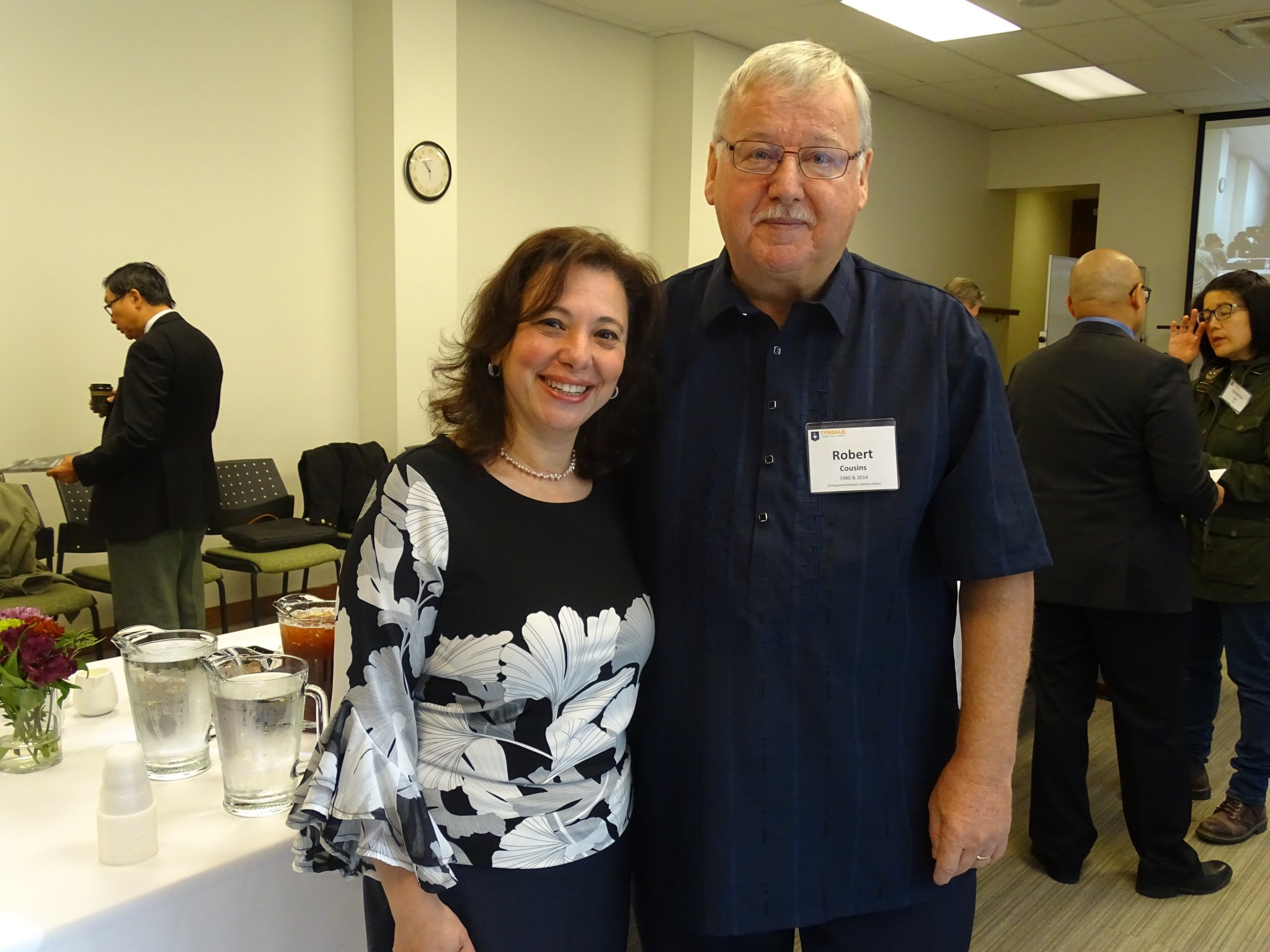 Dr. Robert Cousins at TIM Centre Celebration