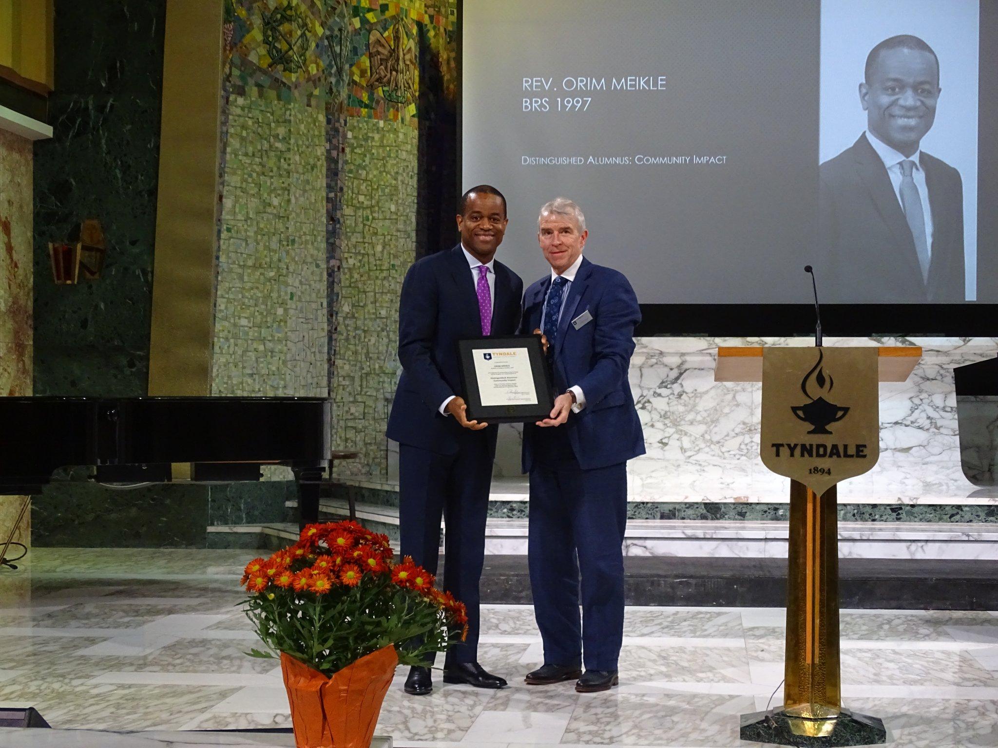 Distinguished Alumni: Rev. Orim Meikle