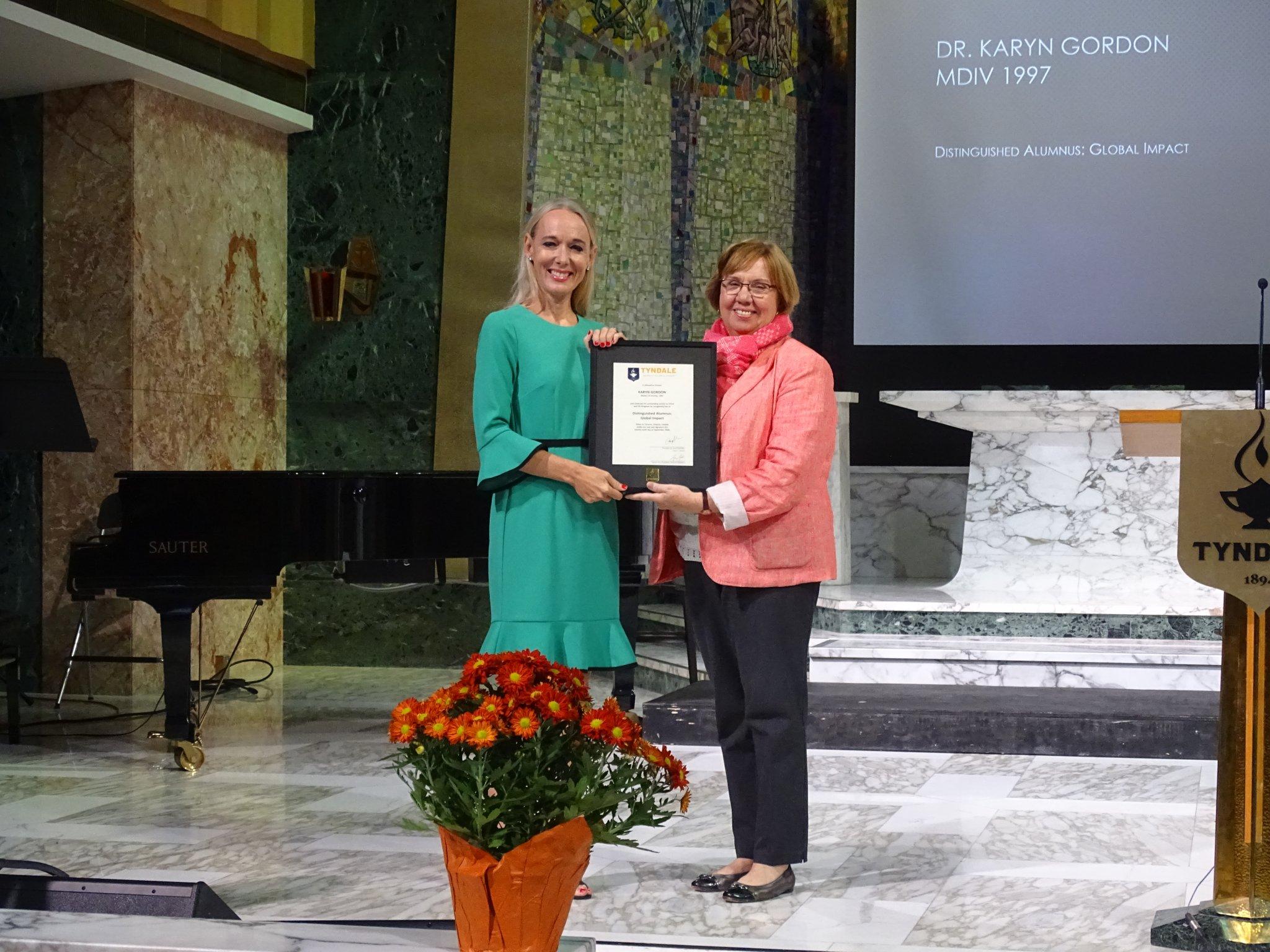 Distinguished Alumni: Dr. Karyn Gordon