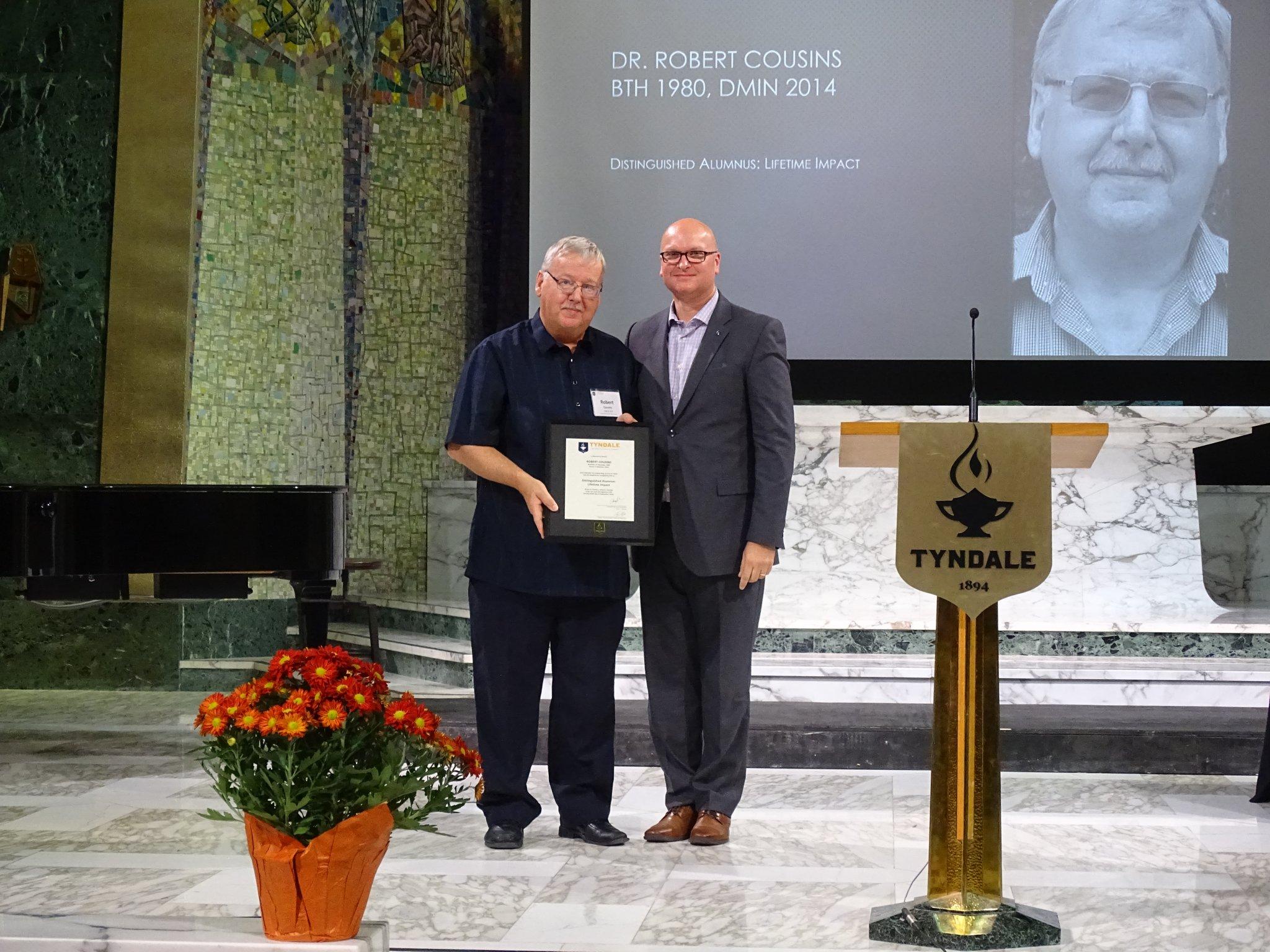 Distinguished Alumni: Dr. Robert Cousins