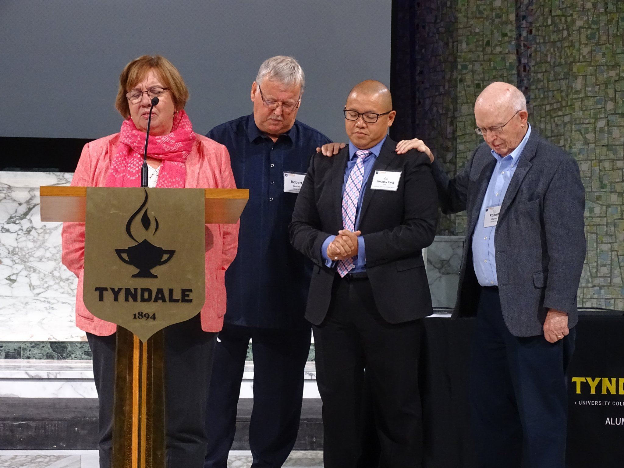 Prayer for Dr. Timothy Tang (new TIM Centre Director)