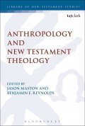 Anthropology and New Testament Theology book cover