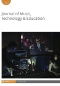 Journal of Music, Technology, and Education Cover