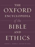 Oxford Encyclopedia of Bible and Ethics