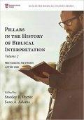 Book cover of Pillars of Biblical Interpretation: Prevailing Methods After 1980