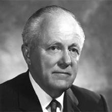 Dr. Stewart Boehmer, President from 1975 to 1989
