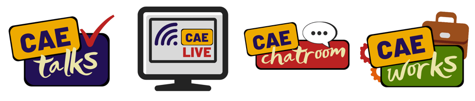 CAE talks, CAE Live, CAE Chatroom, CAE Works - Centre for Academic Excellence Events & Workshops