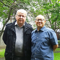 Robert Cousins and Timothy Tang