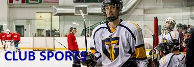 Club teams with Tyndale's hockey team on ice